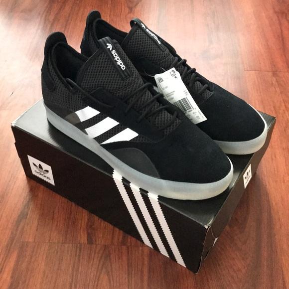 cheap for discount 100df 6bd98 Adidas skate shoe 3st.001 Blackwhite gum size 11